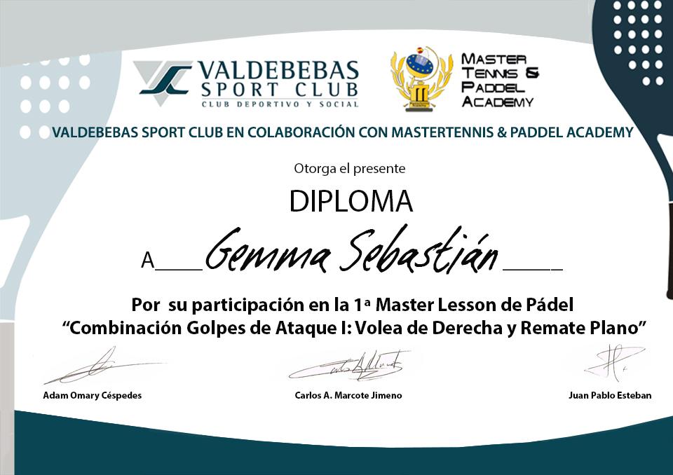 32_DIPLOMA MASTERLESSON PADEL VSC