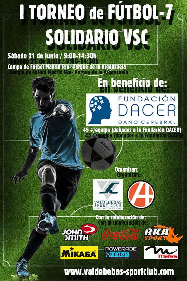 Cartel I Torneo Fútbol-7 VSC