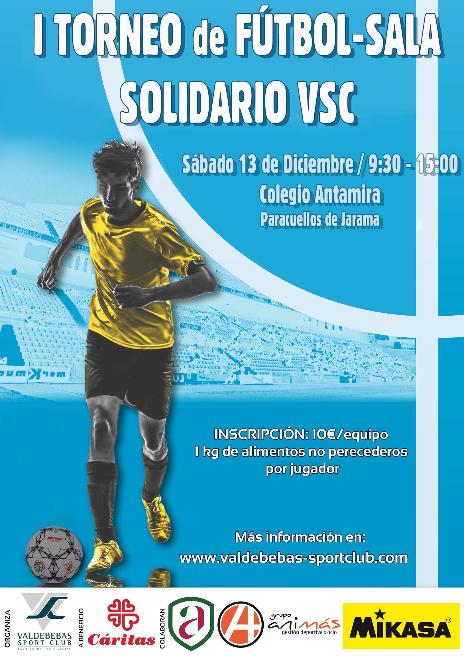 I Torneo Fútbol-Sala Solidario VSC