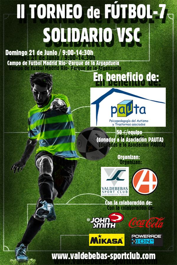 Cartel II Torneo Fútbol-7