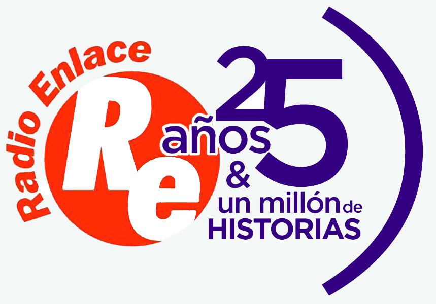 Logo 25 aniversario Radio Enlace_web