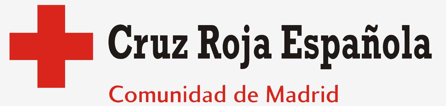 Logo Cruz Roja Comunidad de Madrid web