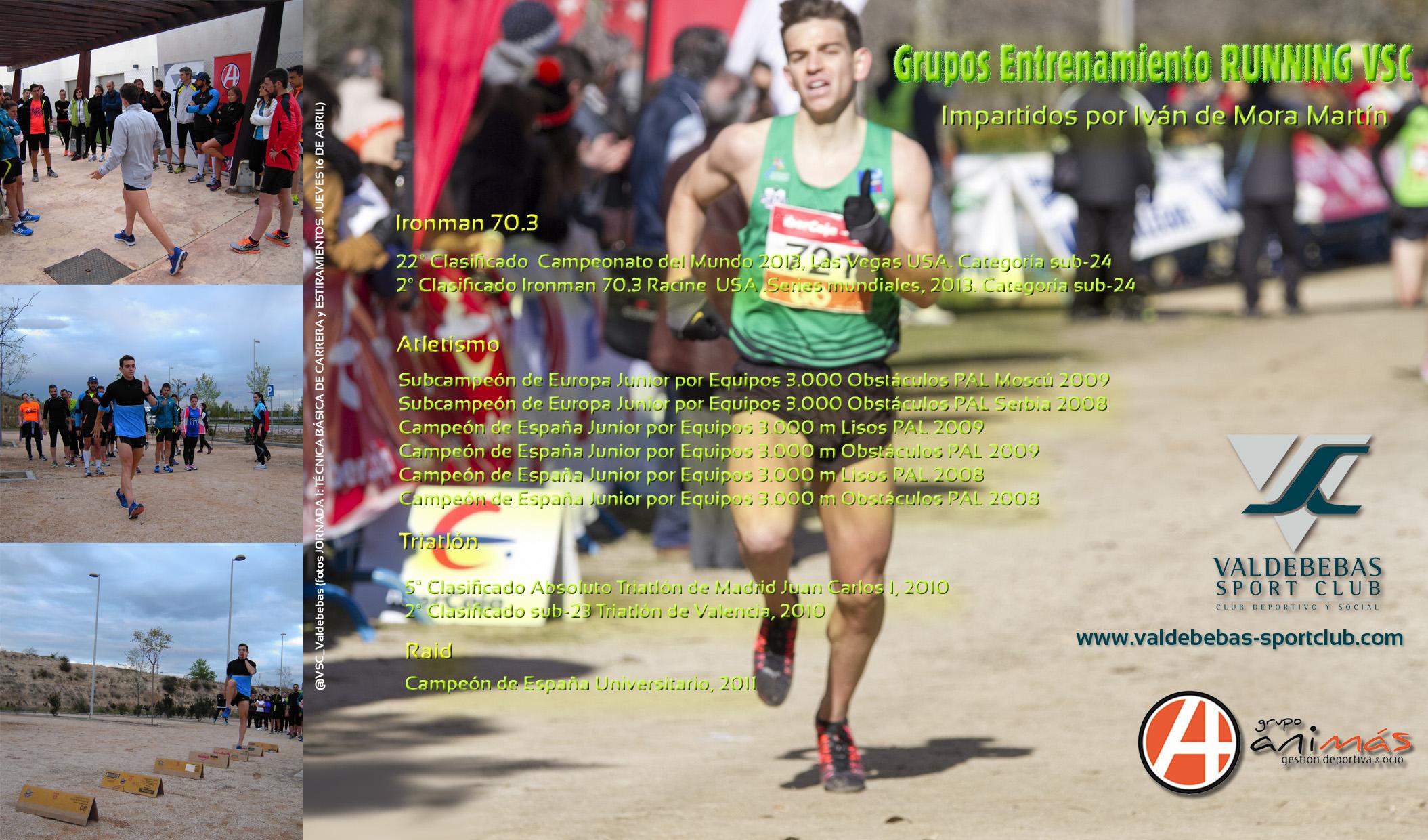 Grupos RUNNING VSC Iván de Mora