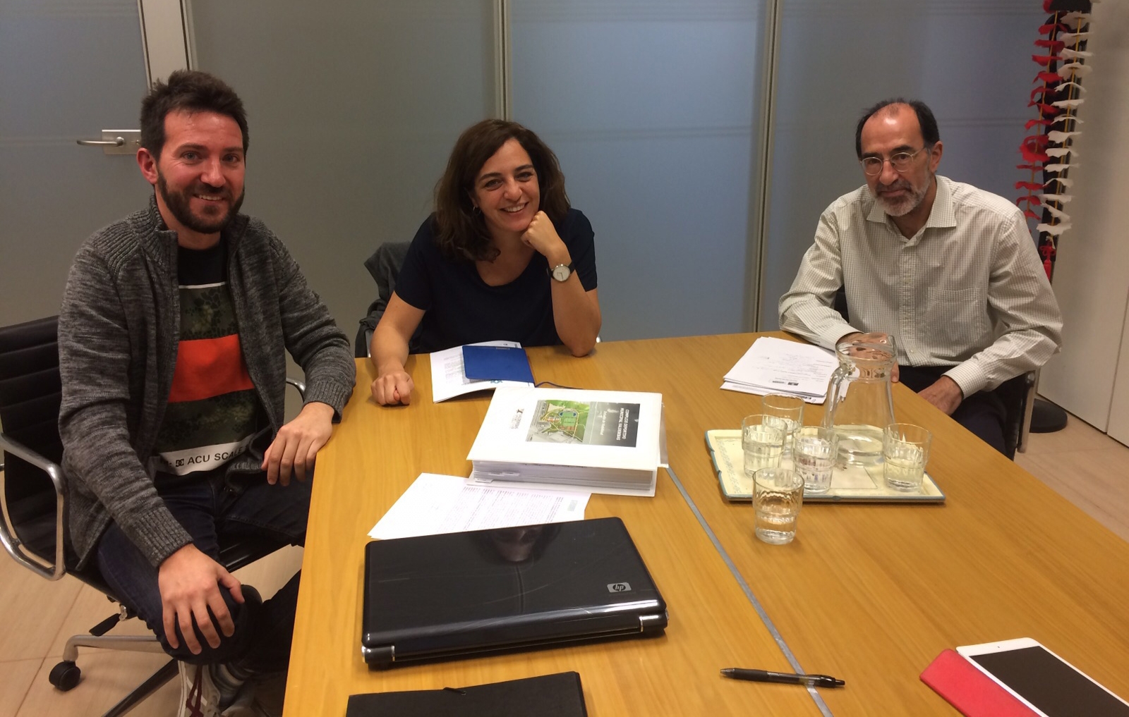 Reunión con Celia Mayer y VSC