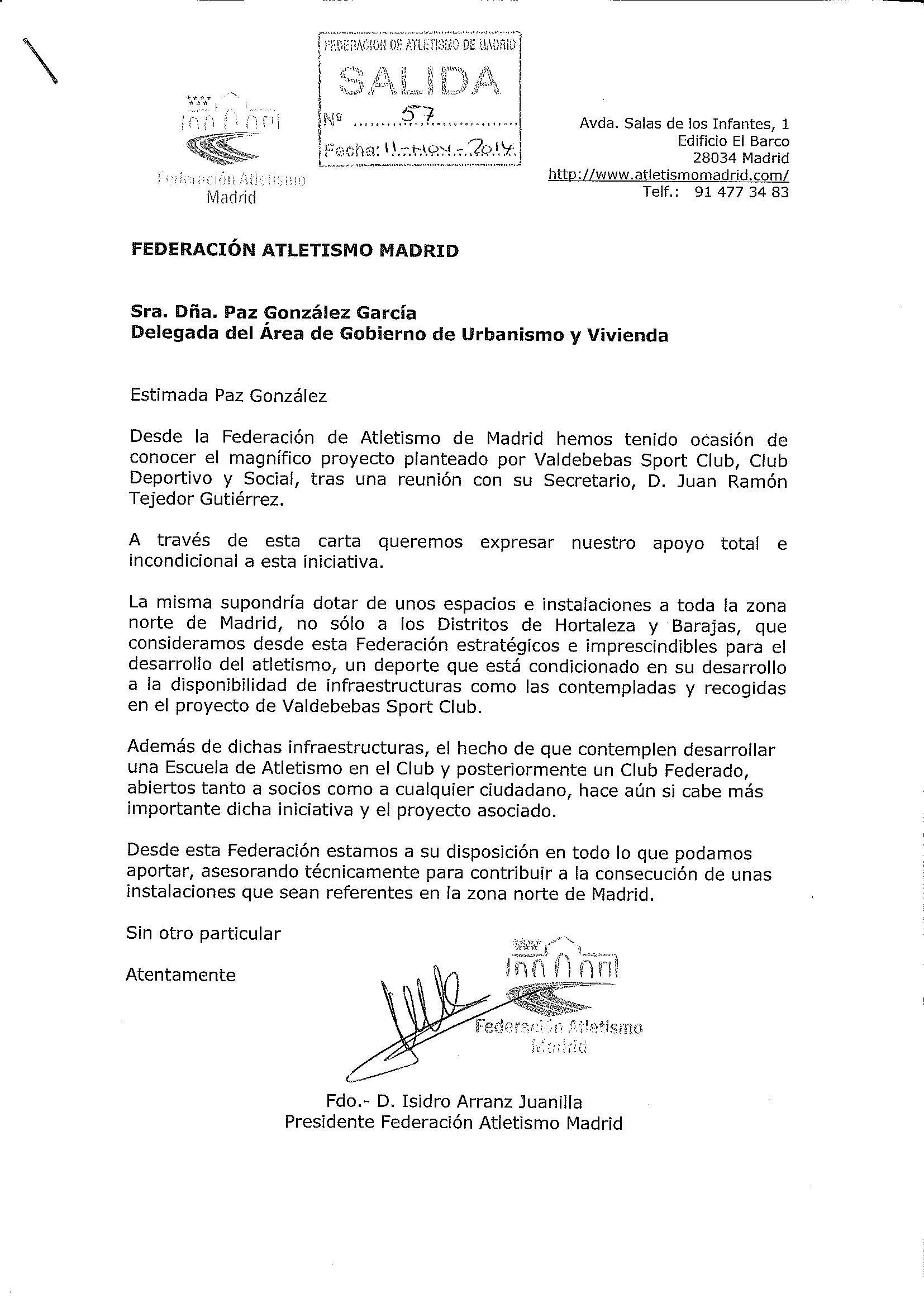 carta-apoyo-vsc-federacion-atletismo-madrid
